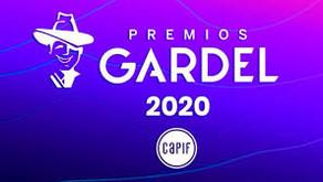 Nuestro director en los Premios Gardel 2020