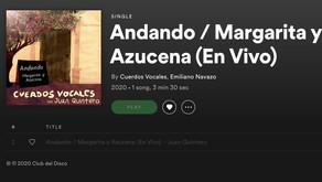 """Cuerdos Vocales llega a Spotify con su single """"Andando"""""""
