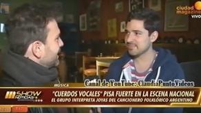 Entrevista a Cuerdos Vocales por Ciudad Magazine