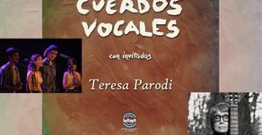 Cuerdos Vocales termina su ciclo con mujeres junto a Teresa Parodi en Espacio Tucumán
