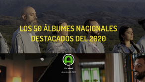 Sueños y Miradas entre los álbumes destacados del 2020