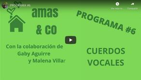 Cuerdos Vocales entrevistado en el programa Amas & co
