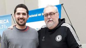 Entrevista a Gastón Dvoskin por Luis Digliano en la Nacional Folklorica