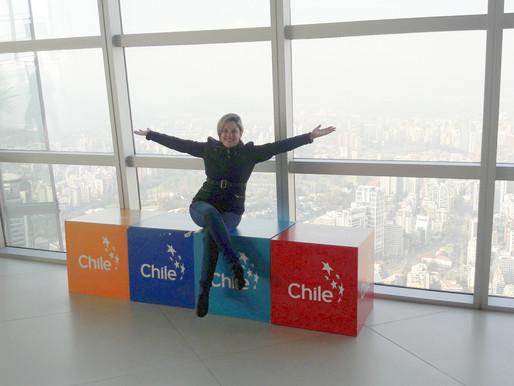 O ponto mais alto da América Latina - Sky Costanera