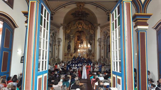 Sarau na Igreja São Francisco Diamantina - MG