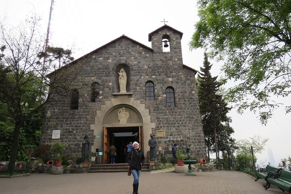 Igreja Imaculada Conceição - Cerro San Cristobal - Santiago - Chile