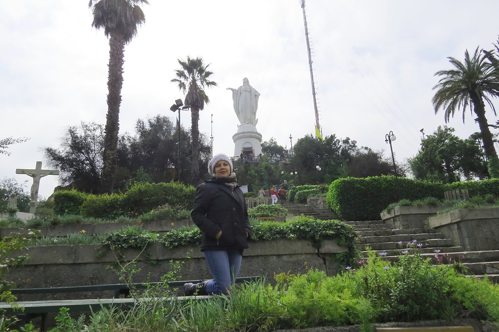 Virgem Imaculada Conceição - Cerro San Cristobal - Santiago - Chile