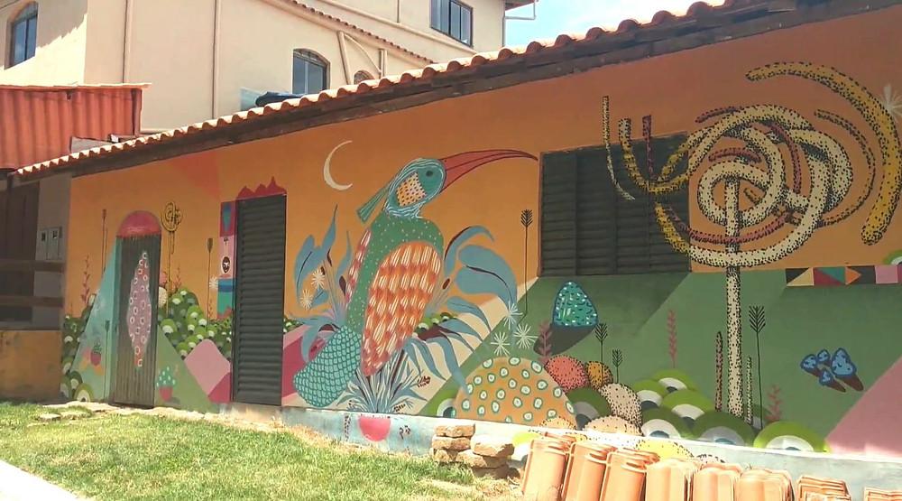 casa colorida projeto quartoamado Itatiaia - MG