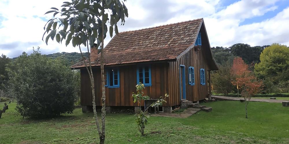 primeira casa Castelinho Caracol - Gramado RS
