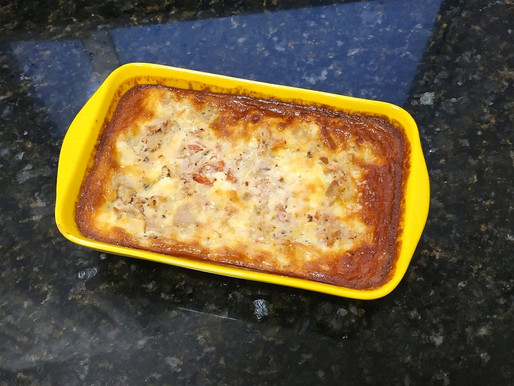 Torta de Atum sem farinha