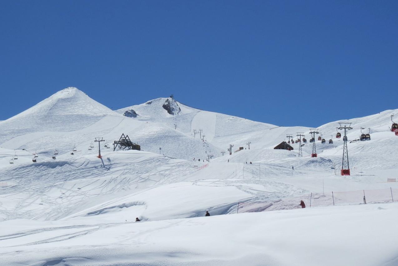 Pista de esqui - Vale Nevado - Chile