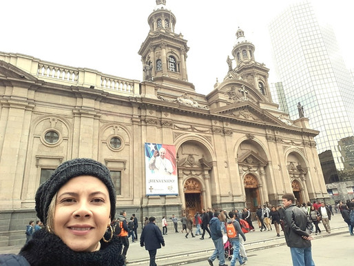 Passeios no Centro de Santiago