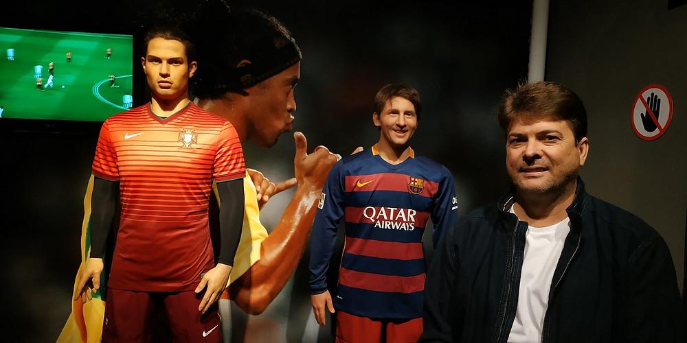 Museu de cera, Gramado, Messi e Cristiano Ronaldo