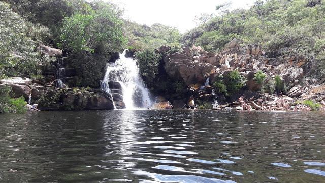 Cachoeira Serra Morena I   Serra do Cipó MG
