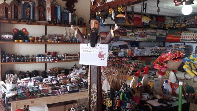 Loja de artesanato Relicário  Serra do Cipó  MG