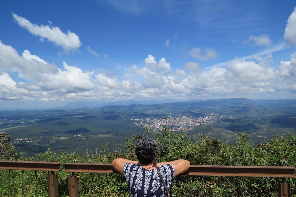 Vista da Serra da Piedade - Caeté MG