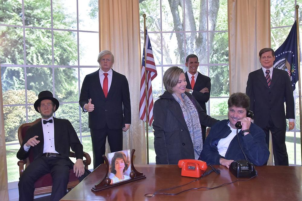 Museu de cera, Gramado, presidentes USA