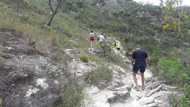 Caminho para a cachoeira Serra Morena  Serra do Cipó MG