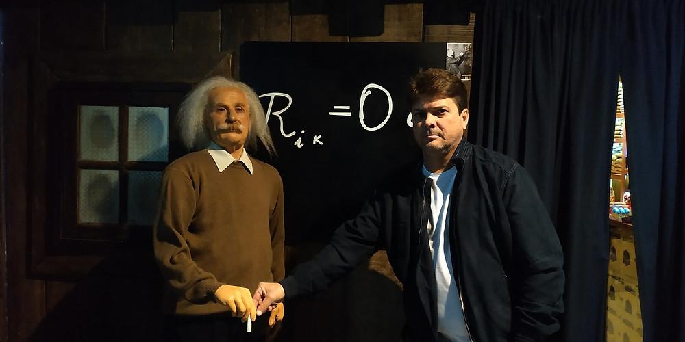 Museu de cera, Gramado, Albert Einstein