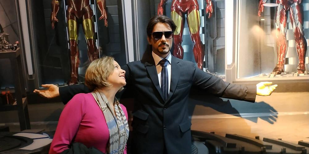 Museu de cera, Gramado, Tony Stark
