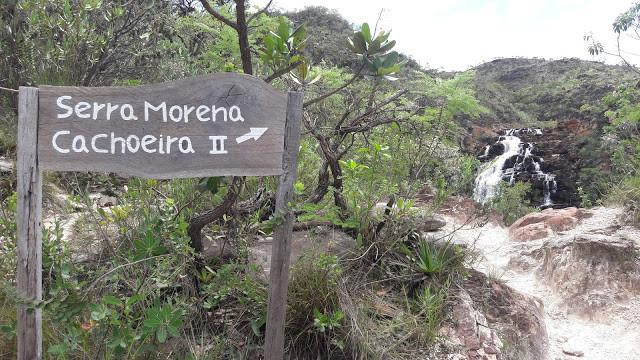 Cachoeira Serra Morena II   Serra do Cipó MG