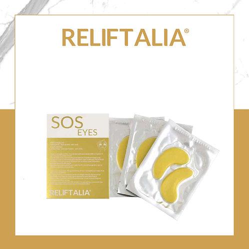 PATCH SOS YEUX RELIFTALIA - 3 PCS