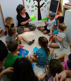 ילדים לומדים אנגלית