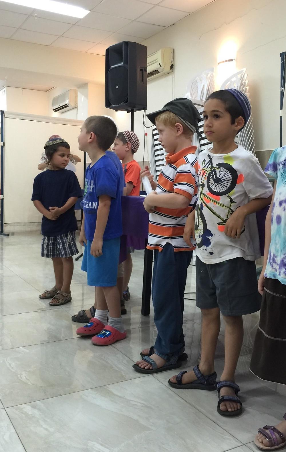 Kindergarten saying ABC