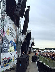 The Carfest Stage