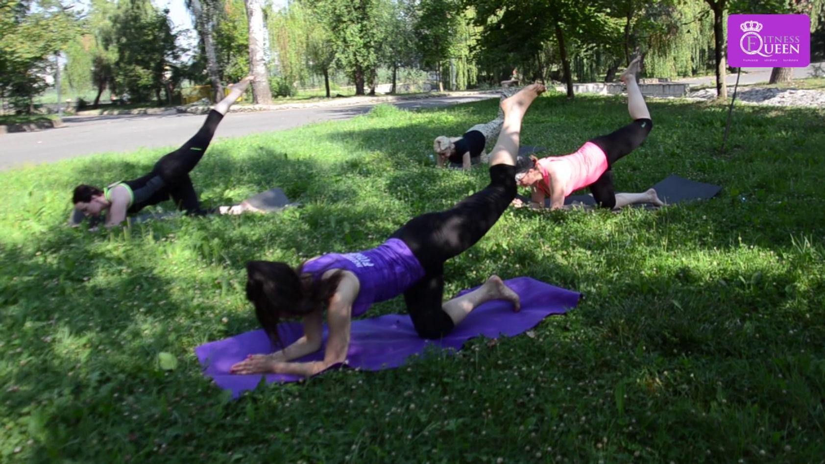 Queen Fitness Pilates în aer liber Valea Morilor