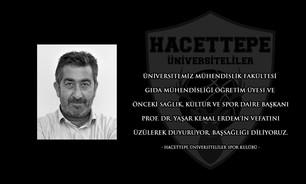 Başsağlığı // Prof.Dr. Yaşar Kemal Erdem