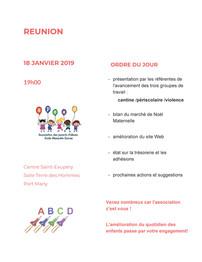 Réunion APEAD