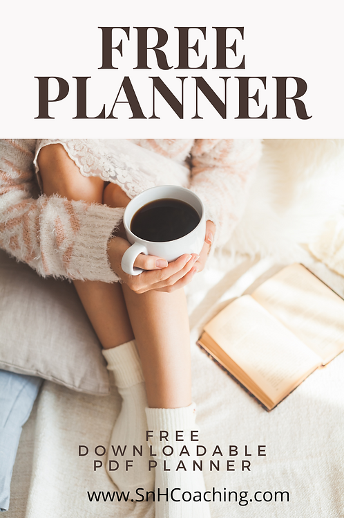 FREE WEEKLY & DAILY PLANNER