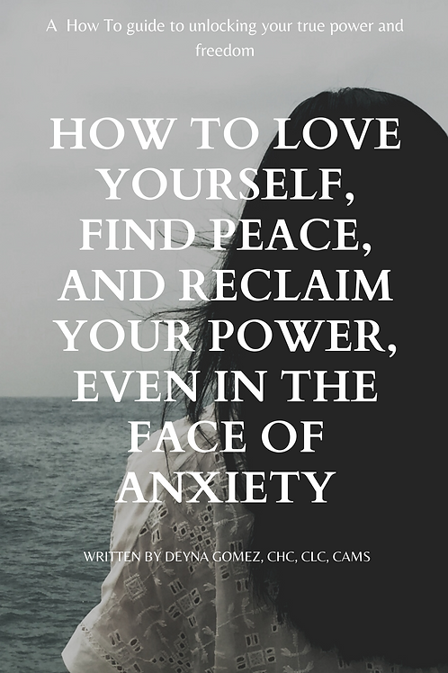 How to Love Yourself, Find Peace, & Reclaim Your Power, Even in the Face of Anxi