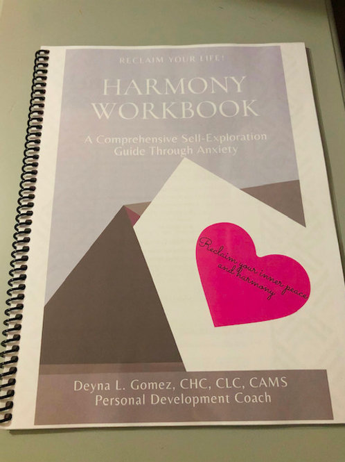 Harmony Workbook- A Self-Exploration Guide through anxiety