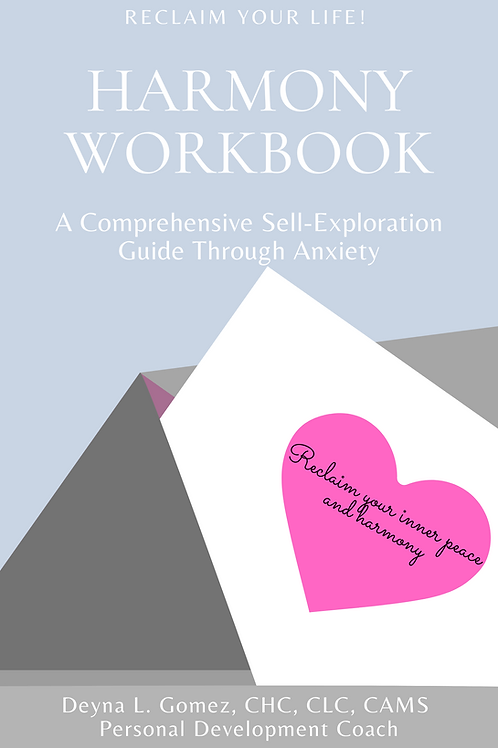 E-BOOK Harmony Workbook- A Self-Exploration Guide Through Anxiety