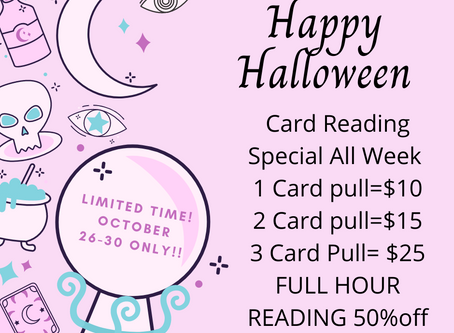 Card Reading Special