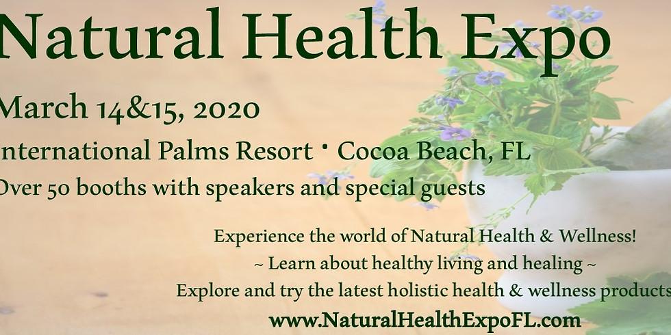 Natural Health Expo- Cocoa Beach