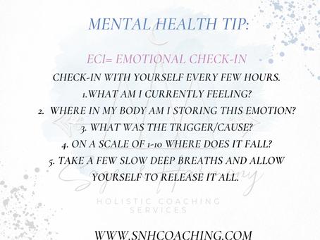 Mental Health Tip