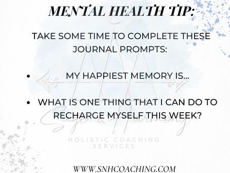 Weekly Mental Health Tip