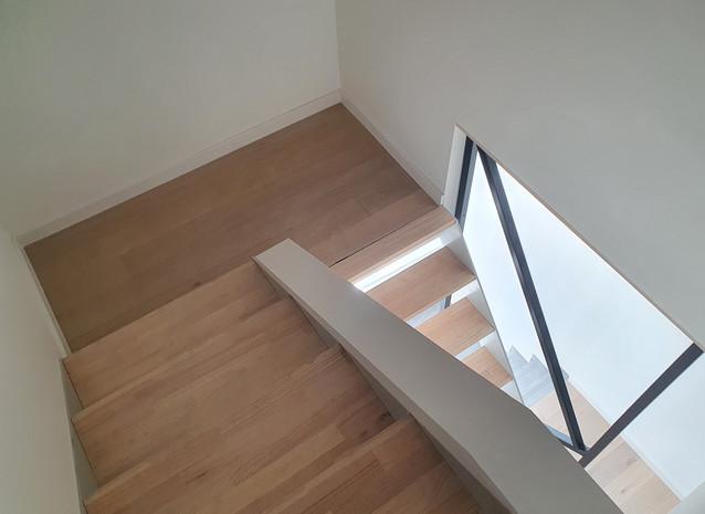Escalier vers 2ème étage