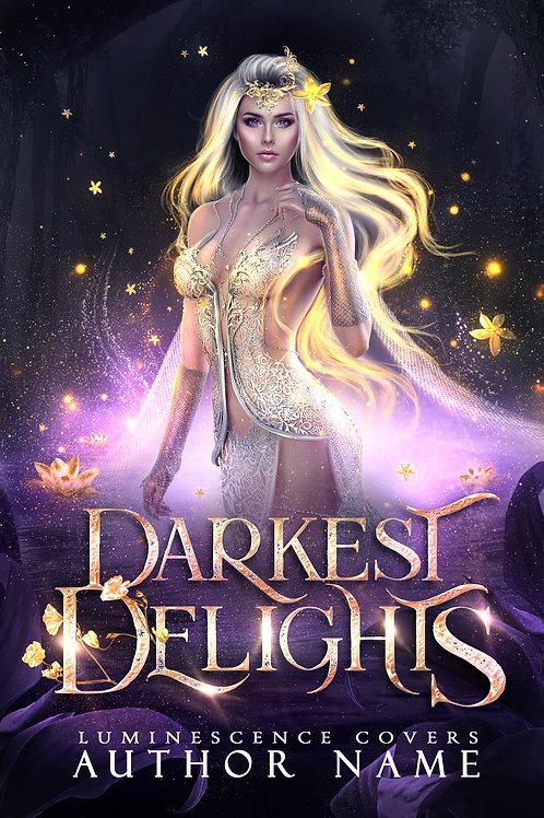 Darkest Delights premade cover