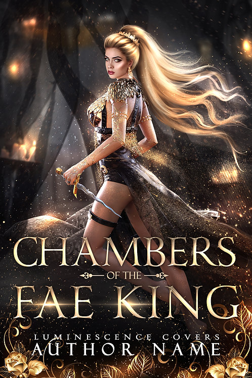 Chambers of the Fae King (Book Cover Art)