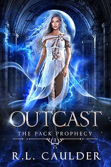 Fantasy book cover art