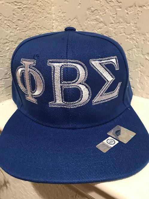 Flat bill hat, adjustable