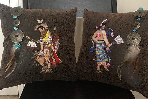 Native Dancer  1 Pillow