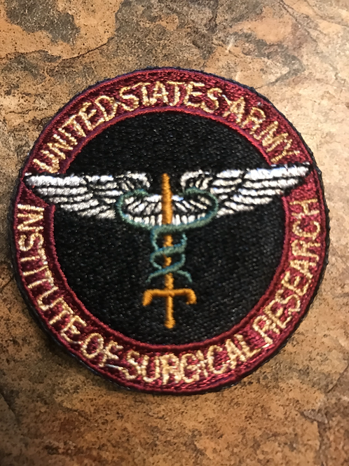 US Army Institute of Surgical Research Patch