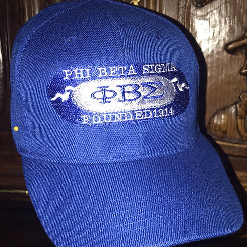Phi Beta Sigma ball cap