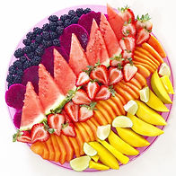 Fruit Platter - fresh homemade fruit platter