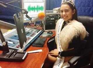 Miss Junior Diamond Australia on the Radio